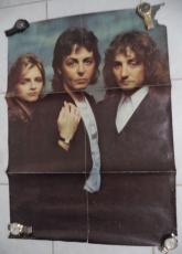 Paul Mccartney And Wings Club Sandwich 1977 23x33 Original Poster Rare
