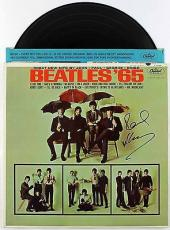 Paul Mccartney Authentic Signed Beatles 65 Vinyl Caiazzo & Psa/dna Loa V09775