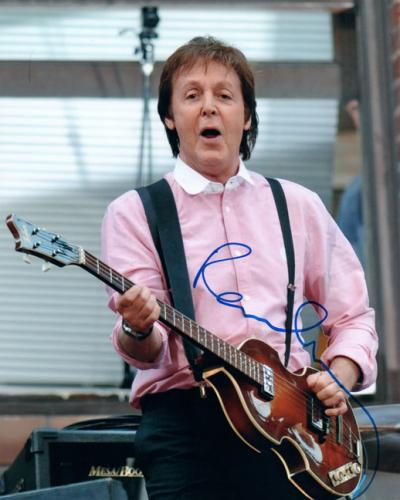 Paul McCartney Autographed Beatles Signed 8x10 Photo AFTAL UACC RD COA