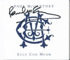 Paul Mccartney Beatles Signed 5X5.5 Ecce Cor Meum Booklet PSA #Q02075