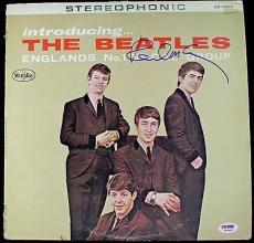 Paul Mccartney Beatles Signed Autographed Vinyl Album Psa/dna Graded Mint 10!