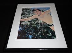 Paul McCartney Beatles swimming Framed 11x14 Photo Display