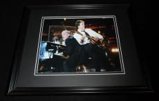 Paul McCartney & Billy Joel Framed 8x10 Photo Poster