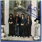 "Paul McCartney Full Name Signed 7"" ""Hey Jude"" Reel To Reel Tape Box PSA #Y06754"