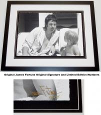 Paul McCartney - James Fortune Signed - Autographed Limited Edition Fine Art Giclee Lithograph Photo Print - Black Frame measures 23x29 inches - Custom Framed - The Beatles - Wings