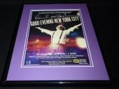 Paul McCartney New York 2009 Facsimile Signed Framed 11x14 Advertising Display