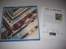 PAUL McCARTNEY & RINGO STARR Signed THE BEATLES 1967-70 Album w/ PSA LOA