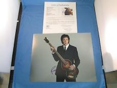 Paul McCartney Signed 11x14 Photo JSA COA LOA Autograph The Beatles The Wings