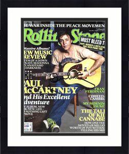 Paul McCartney Signed 2005 Rolling Stone Magazine PSA/DNA #Z03852