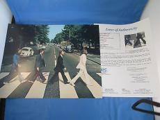 Paul McCartney Signed Abbey Road 11x14 Photo JSA COA LOA Autograph The Beatles