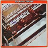 Paul Mccartney Signed Album Cover W/ Vinyl Graded Perfect 10! PSA/DNA #Q00475
