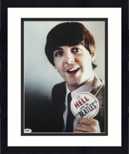 Paul McCartney Signed Autographed 11x14 Photo The Beatles Rare Signature PSA