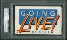 Paul McCartney Signed Autographed 3x5 BBC Album Page PSA/DNA