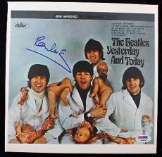 """Paul McCartney Signed Autographed Butcher Cover 10"""" Album Box PSA/DNA"""