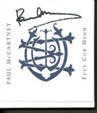 Paul McCartney Signed Autographed Ecce Cor Meum CD Cover PSA/DNA