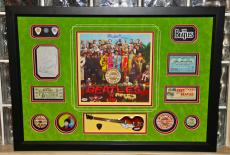 Paul McCartney signed autographed Sgt Pepper LP record album THE BEATLES PSA DNA