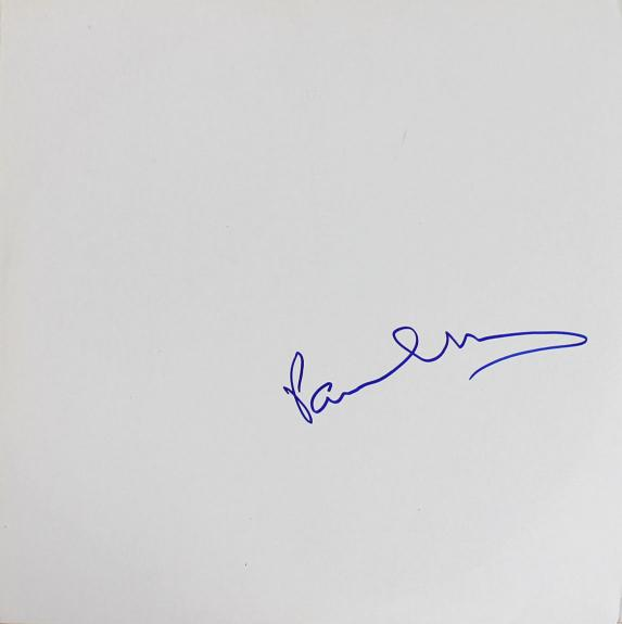 Paul McCartney Signed The Beatles White Album Cover W/ Vinyl JSA #Z53123