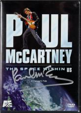 Paul McCartney Signed The Space Within Us DVD Cover w/Disc BAS #A02007