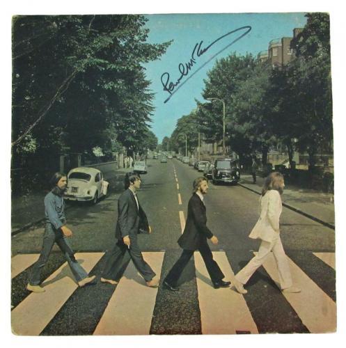Paul McCartney Signed/Autographed Beatles Abbey Road Album Bold RARE  JSA 152121