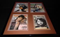 Paul McCartney The Beatles 16x20 Framed Rolling Stone Cover Display