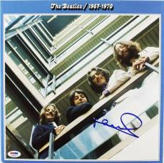 Paul Mccartney The Beatles 1967-1970 Signed Album Cover W/ Vinyl PSA/DNA #P02527