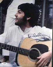 "Paul McCartney The Beatles ""2001"" Signed 11X14 Photo PSA/DNA #AB04425"