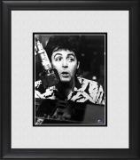 "Paul McCartney The Beatles Framed 8"" x 10"" Recording in Studio Photograph"