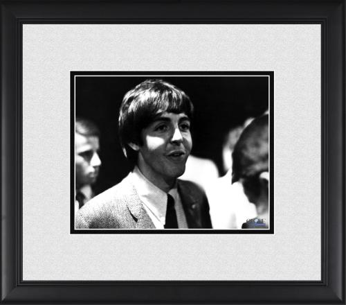 "Paul McCartney The Beatles Framed 8"" x 10"" Talking Photograph"