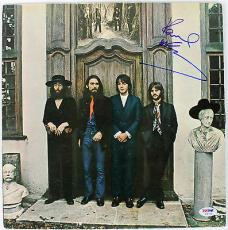 Paul McCartney The Beatles Hey Jude Signed Album Cover W/ Vinyl PSA/DNA #Y06753