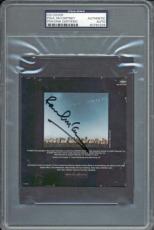 Paul Mccartney The Beatles Signed 4.5x4.75 Cd Cover Psa/dna Slabbed