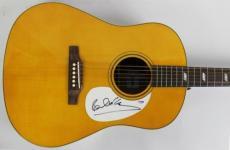 Paul Mccartney The Beatles Signed Acoustic Epiphone Guitar Psa/dna #t01547