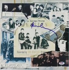 Paul Mccartney The Beatles Signed Album Cover Auto Graded 10! PSA/DNA #U01343