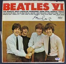 Paul McCartney The Beatles Signed Album Cover W/ Vinyl PSA/DNA #AB04451