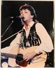 PAUL McCARTNEY The BEATLES Signed Autographed 16x20 Photo PSA/DNA #Z03938