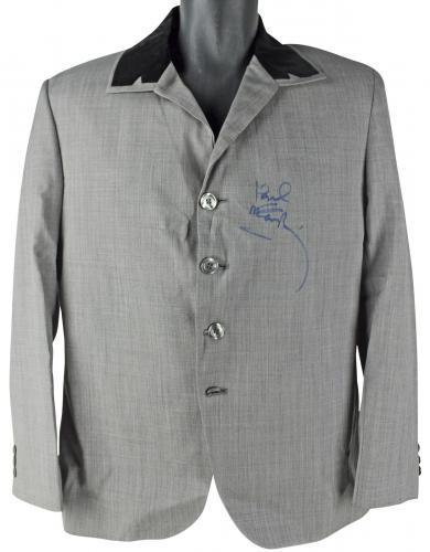 Paul McCartney The Beatles Signed Custom Dezo Hoffman Jacket PSA/DNA #T00760