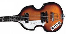 Paul McCartney The Beatles Signed Hofner Bass Guitar PSA/DNA #Q02558
