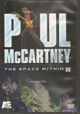 Paul McCartney Un-Signed The Space Within Us Dvd