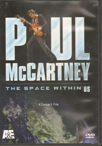 Paul McCartney Un-Signed The Space Within Us Dvd AFTAL