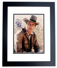 Paul Newman Autographed 8x10 Photo BLACK CUSTOM FRAME