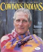 Paul Newman Autographed Celebrity 8x10 Magazine Photo