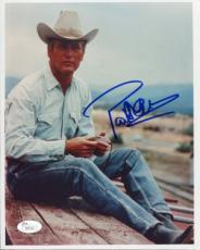 Paul Newman Autographed Celebrity 8x10 Photo (JSA)