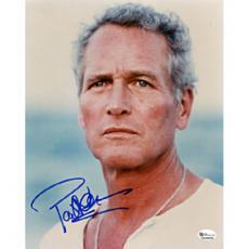 Paul Newman Autographed Celebrity 8x10 Photo