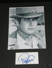 Paul Newman  Hand-Signed Cut Piece     With CertificateOfAuthenticity