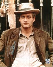 Paul Newman Butch Cassidy & The Sundance Kid Signed 11X14 Photo BAS #A00290
