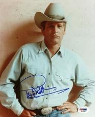 Paul Newman Butch Cassidy & The Sundance Kid Signed 8x10 Photo Psa/dna #x01262
