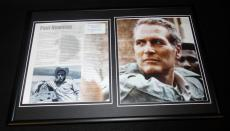 Paul Newman Framed 12x18 Photo Display Hud Fort Apache