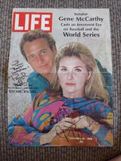 Paul Newman & Joanne Woodward Signed Autographed Magazine Cover Photo