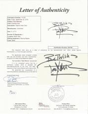 Paul Newman Movie Legend Signed Autographed 3x5 Index Card Jsa Coa #z07726 Rare