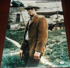 Signed Cassidy Photo - PAUL NEWMAN Butch Sundance Kid 16x20 PSA DNA COA