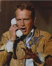 Paul Newman Signed Autographed Color Photo Jsa James Spence Coa